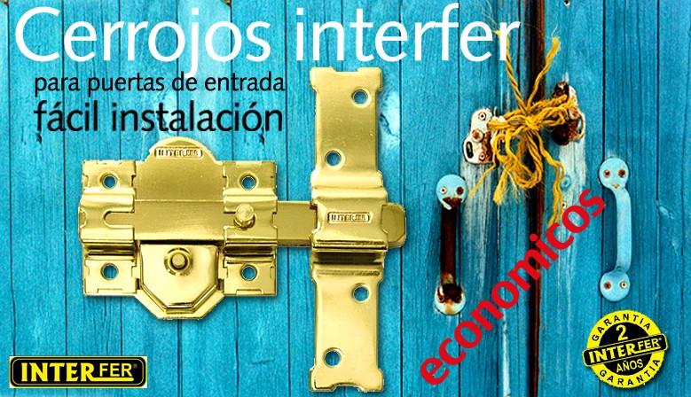Cerrojos Interfer