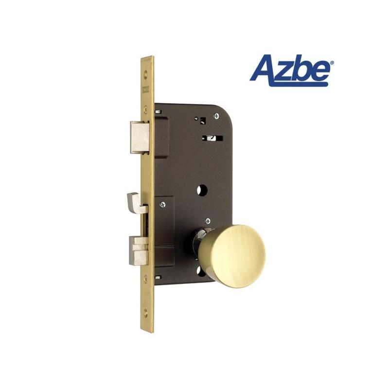 Cerradura de embutir antipalanca azbe 48 e cerraduras y - Bombines de puertas ...