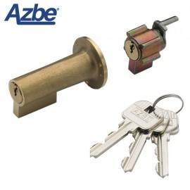 Juego de bombines para cerradura AZBE 56 ó 125