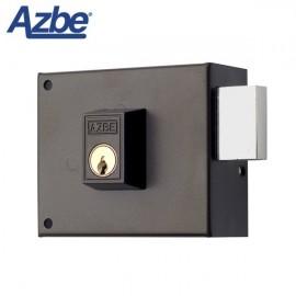 Cerradura de sobreponer sin resbalón AZBE 124